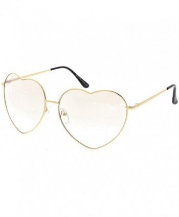 sunglassLA Oversize Metal Sunglasses Colored