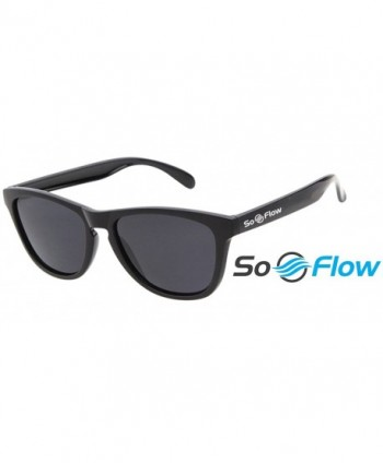 SoFlow Black Polarized Sunglasses Women