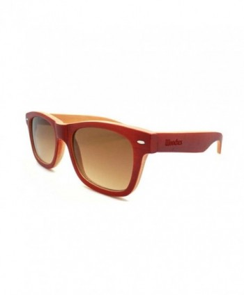 WOODIES Cherry Full Bamboo Sunglasses