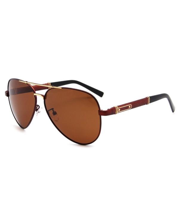 AMZTM Classic Oversized Polarized Sunglasses