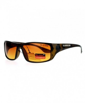 Xloop Driving Rectangular Sunglasses Tortoise