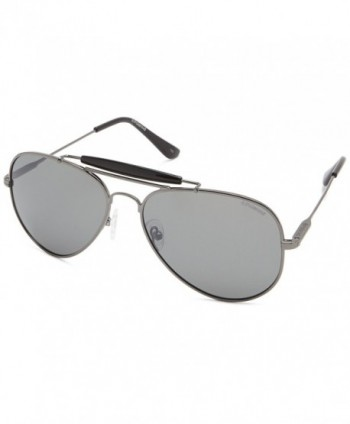 Polaroid Sunglasses Polarized Aviator Gunmetal