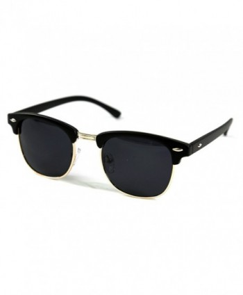 Roupai Classic Semi rimless Sunglasses Polarized