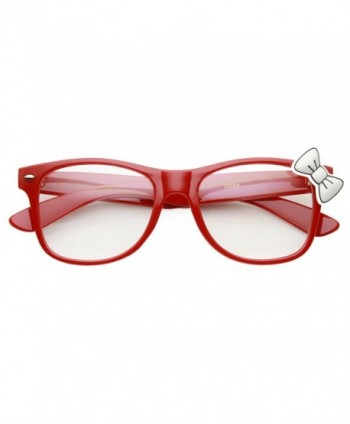zeroUV Womens Clear Rimmed Hello