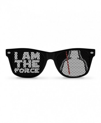 FORCE Black Retro Party Sunglasses