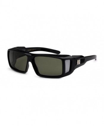 Barricade Polarized Driving Sunglasses Rectangle