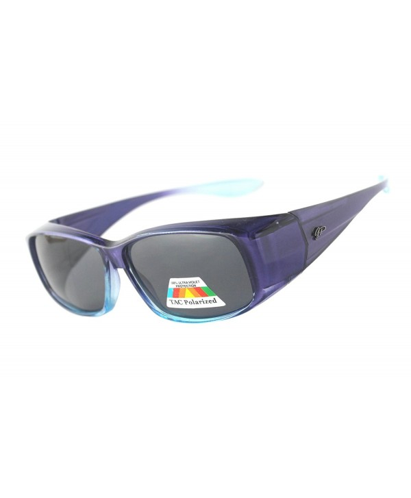 323c88651fb Fitover Polarized Sunglasses To Wear Over Regular Glasses Blue