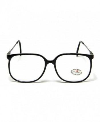 Clear Square Glasses Fashion Carbon