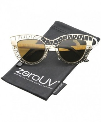 zeroUV Womens Tinted Oversized Sunglasses