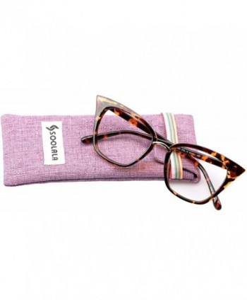 SOOLALA Quality Readers Stylish Oversized
