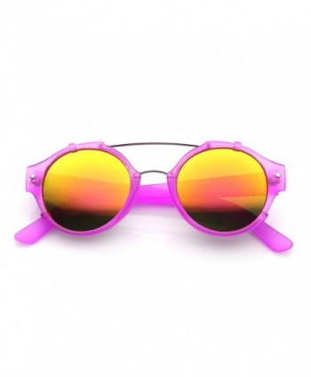 zeroUV Frosted Double Aviator Sunglasses