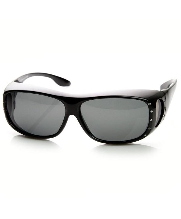 zeroUV Womens Large Polarized Sunglasses