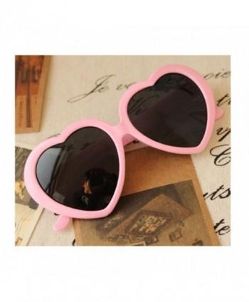 Fashion Oversized Heart Shaped Sunglasses Eyeglasses