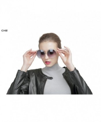 4b85160521 Available. CHB double circle oversized sunglasses  Round sunglasses ...