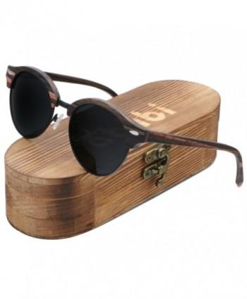 Ablibi Sunglasses Polarized Bamboo Shades