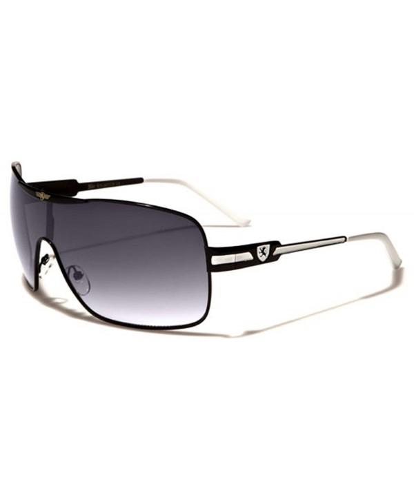 Fashion Square Aviator Sunglasses Silver