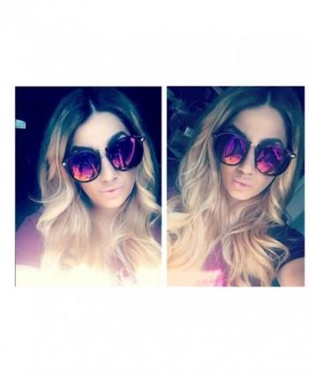 VIVIENFANG Horned Wayfarer Sunglasses 85652A