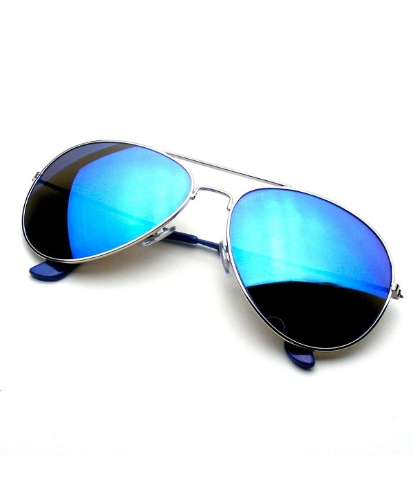 Reflective Classic Flash Mirrored Sunglasses