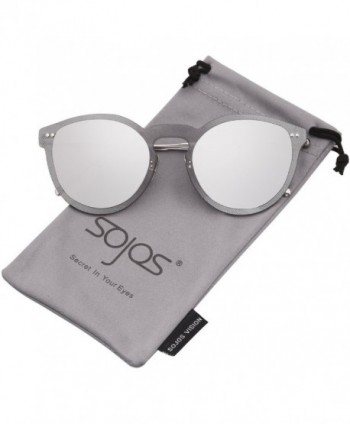 Rimless Sunglasses Mirrored SJ1074 Silver