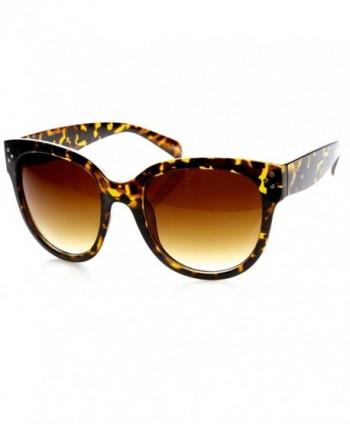 zeroUV Oversized Fashion Sunglasses Tortoise