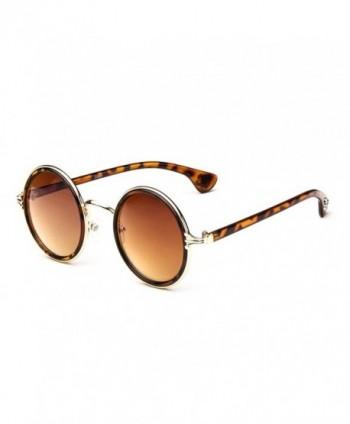 Flowertree Womens Rimmed Sunglasses leopard