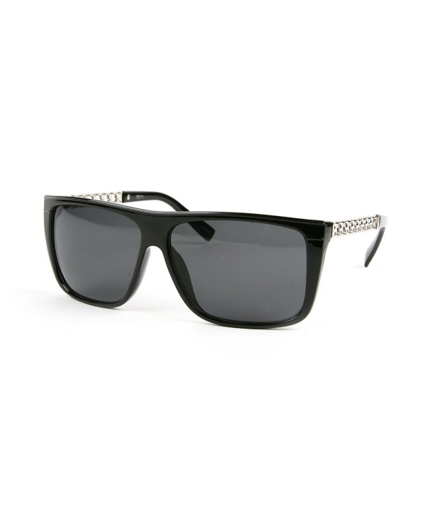 Designed Wayfarer Sunglasses P2111 Black Smoke