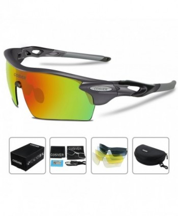 COSVER Polarized Sunglasses Interchangeable Multicoloured