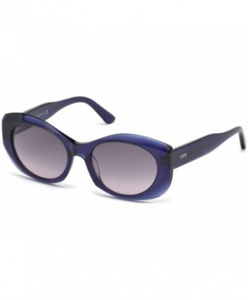 Tods TO0145 92B Blue Sunglasses