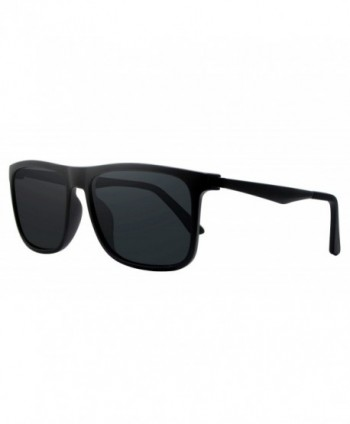 COOLSOME Classic Aluminum Polarized Sunglasses