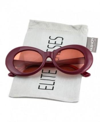 Elite NIRVANA Vintage Sunglasses Burgundy