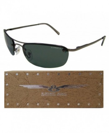 Element Eight Polarized Sunglasses Semi Rimless