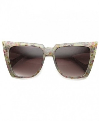 zeroUV Speckled Butterfly Sunglasses Lavender