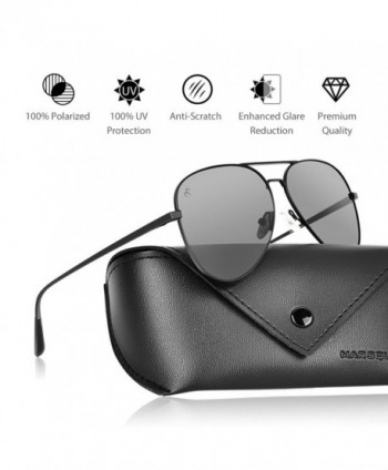 Polarized Aviator Sunglasses Durable Mirrored