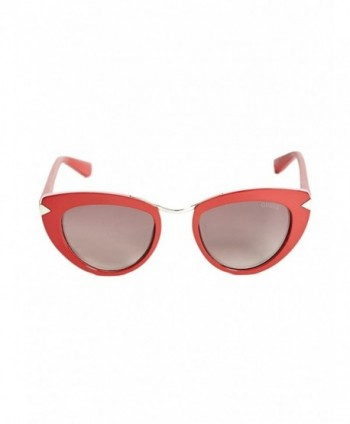 GUESS Womens Cat Eye Sunglasses
