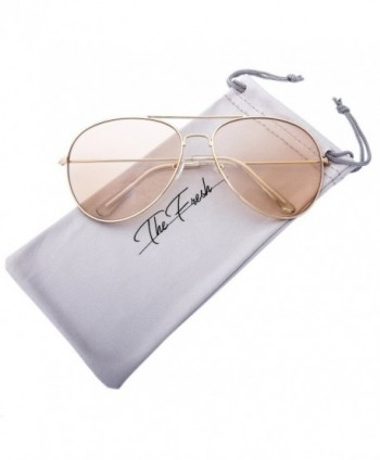 Fresh Classic Oversized Aviator Sunglasses