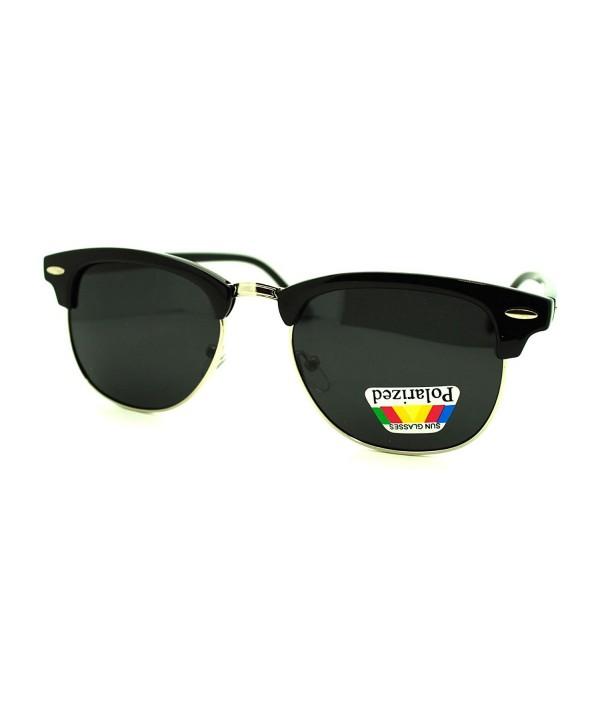 Polarized Sunglasses Designer Fashion Silver