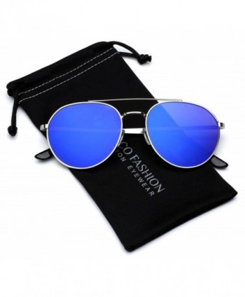 Aviator Sunglasses Reflective Tinted Lenses