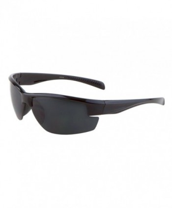 Sunglasses Rimless Driving Motocycle Sport Shiny Black