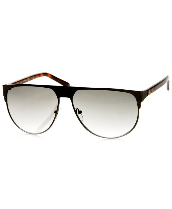 zeroUV Fashion Sunglasses Gunmetal Tort Grey Fade