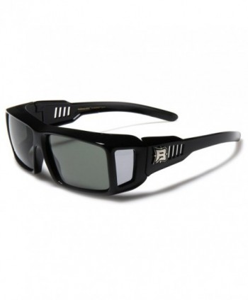 Polarized Rectangular Sunglasses Shields GREEN