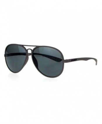 Kush Rubberized Plastic Aviator Sunglasses