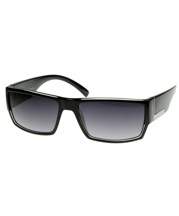 zeroUV Modern Acetate Square Sunglasses