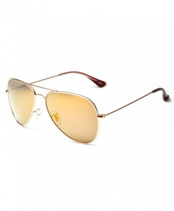 Stainless Classic Aviator Polarized Sunglasses