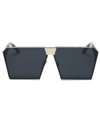 VATENANI Oversized Mirrored Polarized Sunglasses