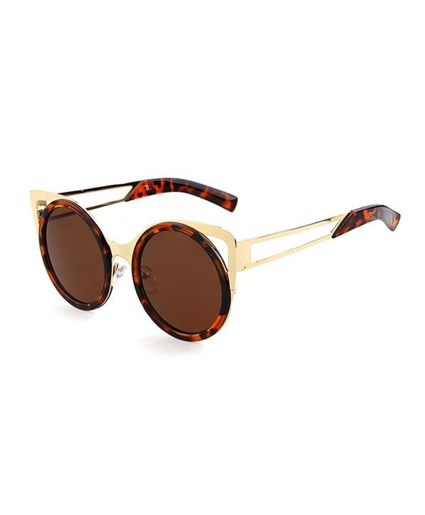 Guoxuan Unisex Style Mirror Sunglasses