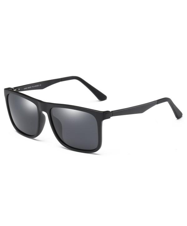 BLEVET Polarized Sunglasses Aluminum Magnesium