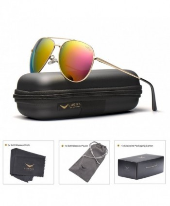 LUENX Aviator Sunglasses Women Polarized