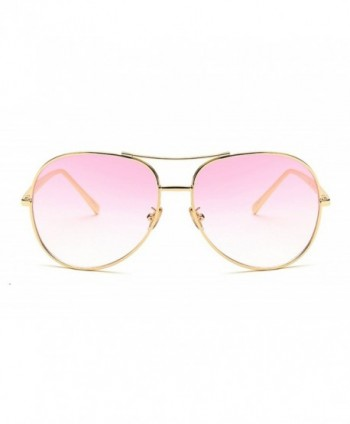 Vintage Oversized Aviator Sunglasses Gradient