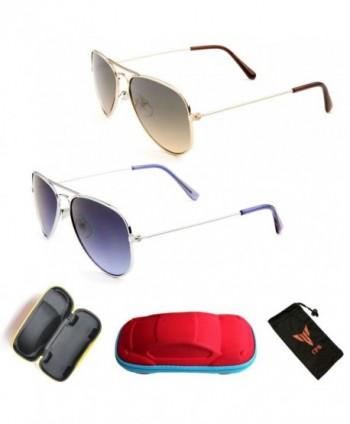 Aviator Retro Classic Frame Sunglasses
