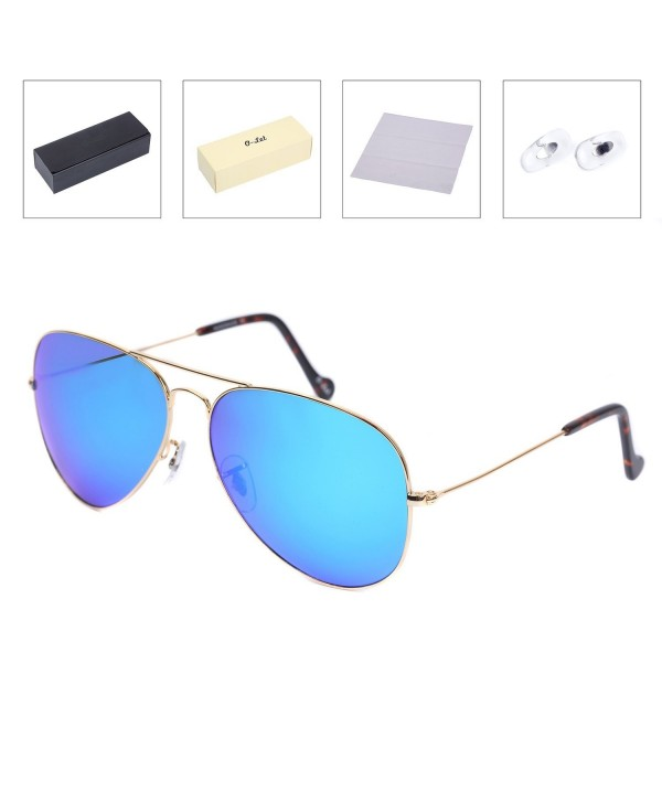 LET Oversized Polarized Sunglasses Stainless